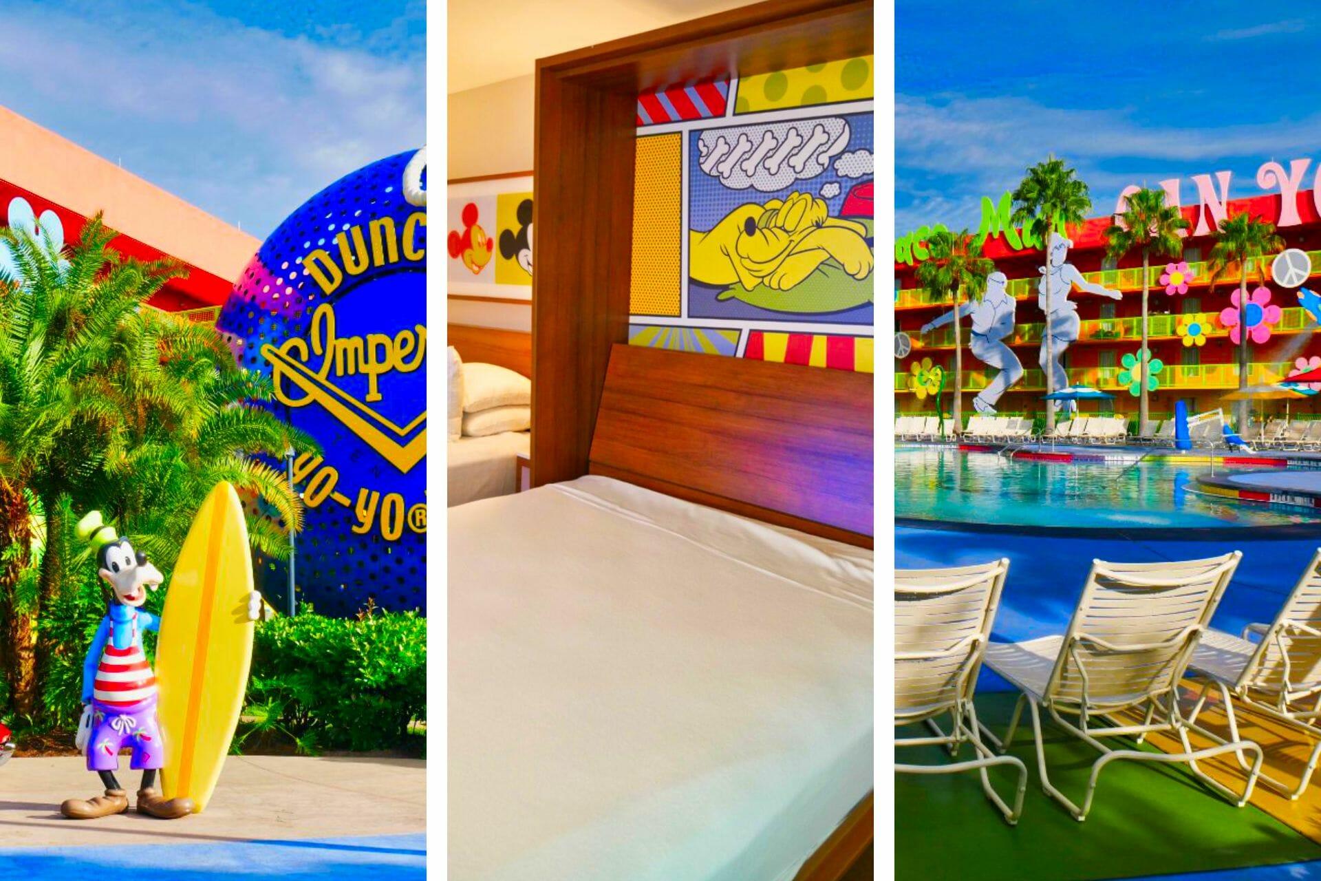 Honest Disney's Pop Century Resort Review (2021) via @allamericanatlas
